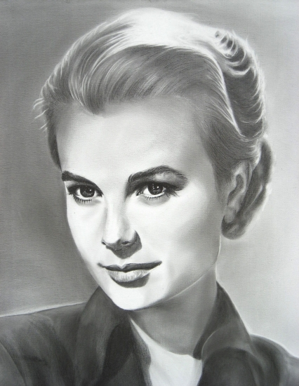 Grace Kelly by poussin